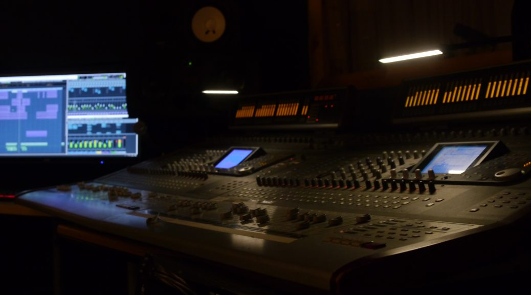Tascam DM4800 desk