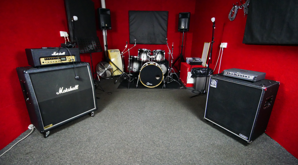 The Red Room at One Louder Studios Newport