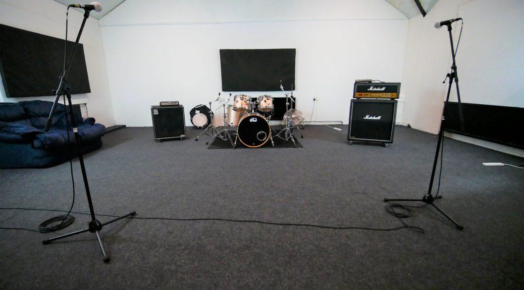 The Big Room at One Louder Studios Newport