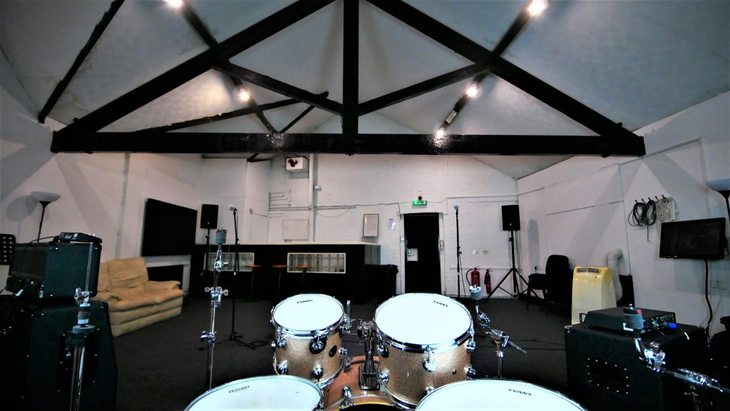 Big Room from the drum kit
