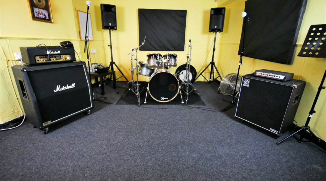 The Gold Room at One Louder Studios Newport